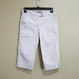 J. Crew Short Pants Favorite Fit Gray Sz 6